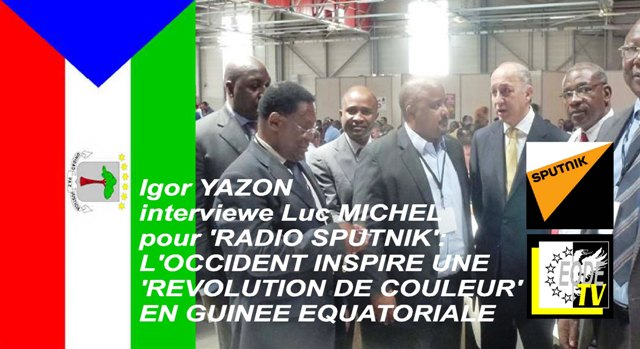 EODE-TV - LM destabilisation Guinee Eq. SPUTNIK.FR (2015 06 27)  FR