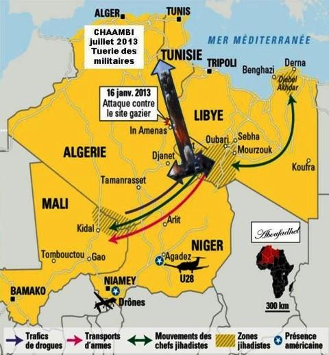 PANAF-TV - LM tunisie algérie libye sur AM (2015 07 19) FR 1