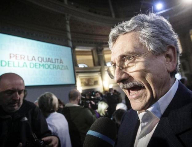 PD, D'Alema avvisa Renzi: 'Il tuo governo cadrà, so perchè e per mano di chi'