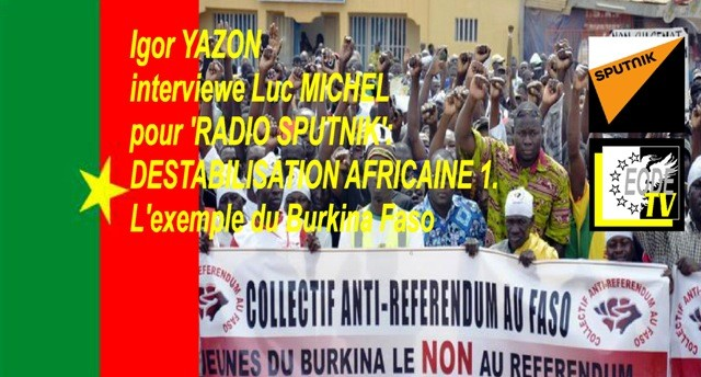 EODE-TV - EXPERTS lm DESTABILISATION AFRICAINE 1. BURKINA (2015 10 03) FR