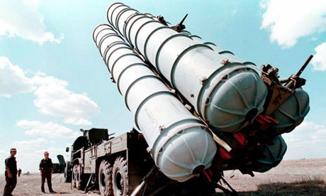 Russian S-300 missiles