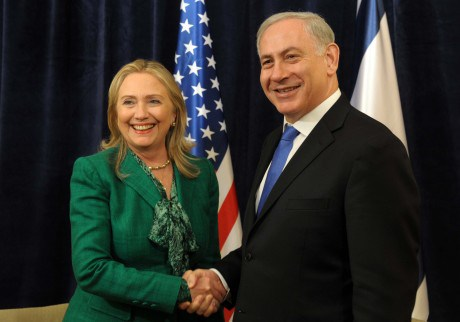 Netanyahu-and-Hillary