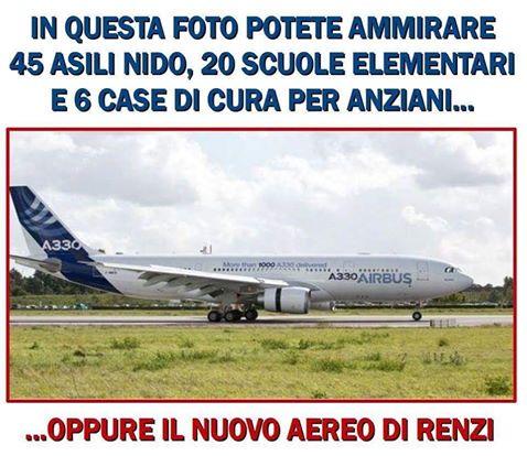 Air Force One Renzi