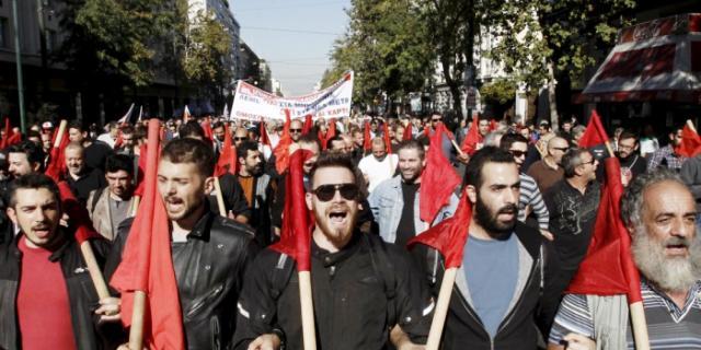 48 ORE DI SCIOPERO GENERALE IN GRECIA: SOLIDARIETÀ CON CHI LOTTA CONTRO LA TROIKA E IL SUO FANTOCCIO TSIPRAS