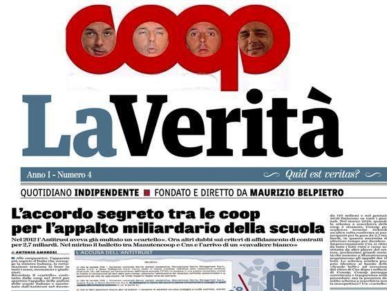 Il senso di Renzi per le Coop e l'accordo segreto Manutencoop e Cns. 2,7 miliardi di appalto
