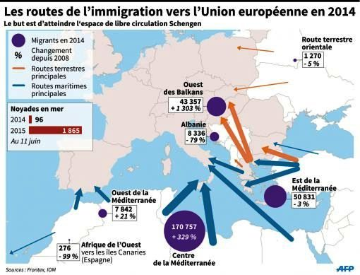 LIGNE ROUGE - amtv LM cartes immigration Libye (2016 12 08) (3)