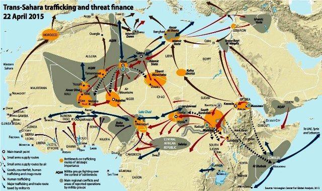 LIGNE ROUGE - amtv LM cartes immigration Libye (2016 12 08) (4)