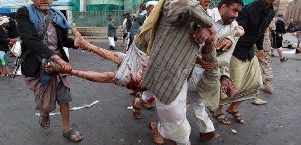 yemen bombard