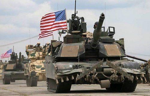 US-Tanks-in-Poland-border