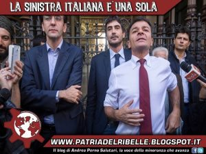 La sinistra italiana è una sola