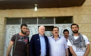 Sen. John McCain visited rebels in Syria on Monday, his communications director confirmed to CNN, making the Arizona Republican the highest ranking elected official from the United States to visit the war-torn country since its civil war began over two years ago.