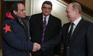 Abdel Fatah al-Sisi meets Vladmir Putin 13/2/14