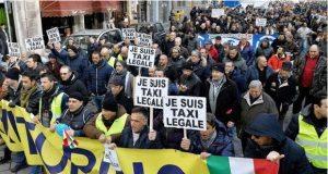 protesta-tassisti-taxi-uber