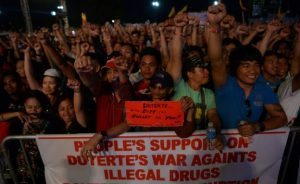 sostenitori DUterte