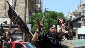"""Prime reazioni di """"esultanza"""" per l'attacco USA nelle file dagli jihadisti in Siria"""
