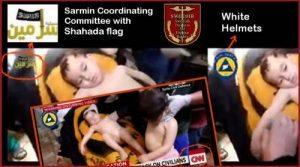 Isis flag white helmets