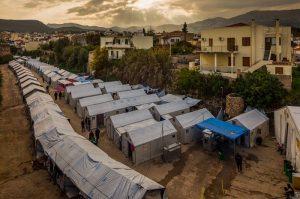 campo profughi souda isola di chios
