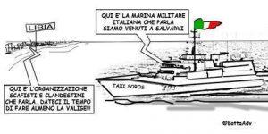I taxi Soros italiani