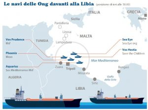 navi Ong davanti Libia 2