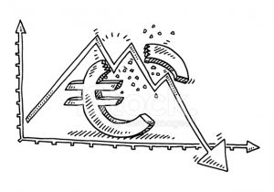 euro-symbol-recession-graph-drawing