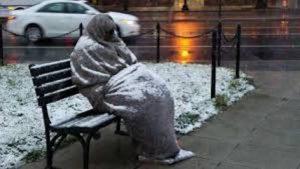 senzatetto freddo
