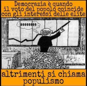 democrazia interesse elites