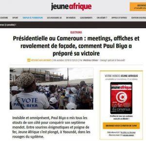PANAF.NEWS - CAMER LM opposition désunie (2018 10 08) FR