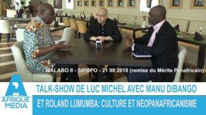 WAMTV - Talk-show lm+di bango+lumumba (2018 11 21) FR