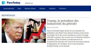 RP LM.GEOPOL - parstoday trump pétrole I (2018 12 15) FR (2)